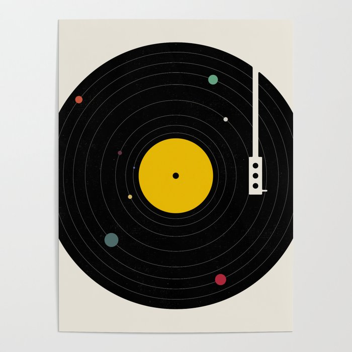 Music, Everywhere Poster