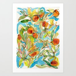 Naranjo Art Print