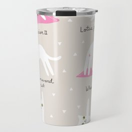 Yoga Cats Travel Mug