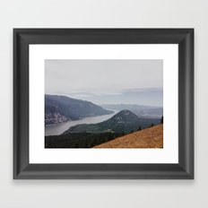 Columbia Gorge Framed Art Print