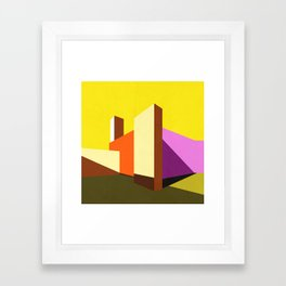 Casa Barragán Modern Architecture Framed Art Print