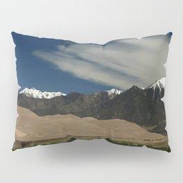 High Mountains and Sand Dunes Pillow Sham