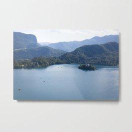Lake Bliss Metal Print