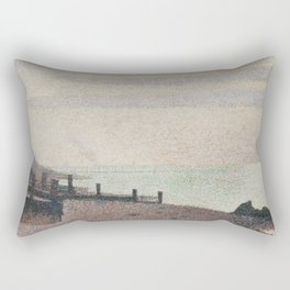 Evening, Honfleur Rectangular Pillow