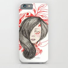 Red leafs iPhone 6s Slim Case