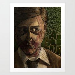 A Beautiful Mind Art Print
