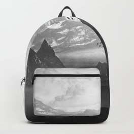 Black and White - Winter. Melody... Backpack