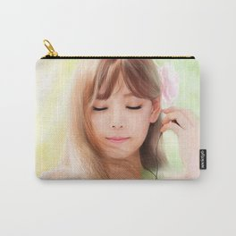 Taeyeon SNSD Digital Painting Carry-All Pouch