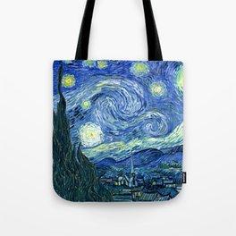 Vincent van Gogh Starry Night 1889 Tote Bag