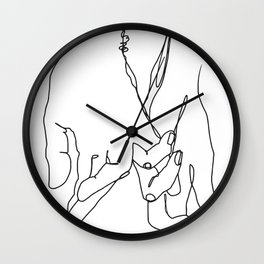 Wherever You're Going Wall Clock