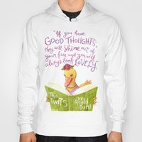 roald dahl Hoodies featuring No Ugly Duckling by Cynthia Bauzon-Arre