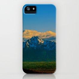 Pioneer Peak - Mat-Su Valley iPhone Case
