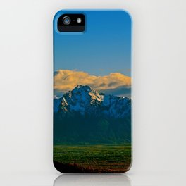 Pioneer Peak - Mat-Su Valley iPhone Case