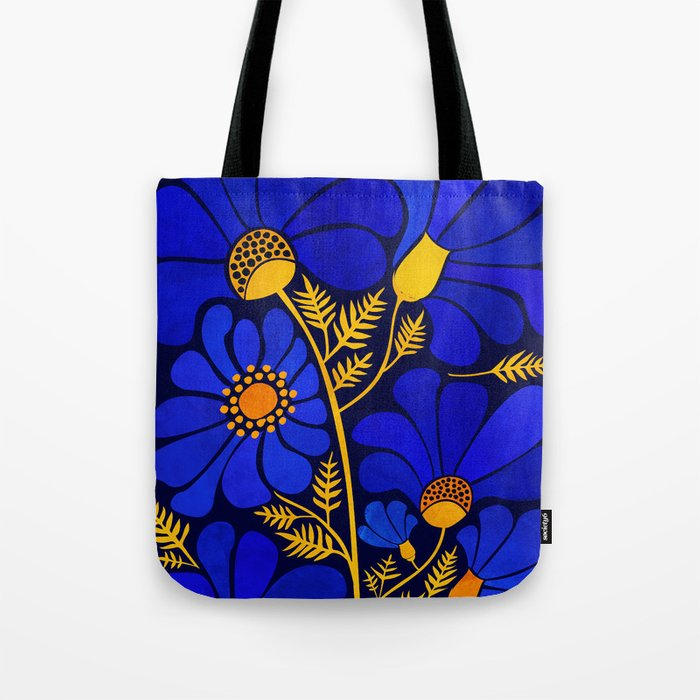 Wildflower Garden Tote Bag
