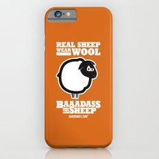 Baaadass the Sheep: Real Sheep Wear Wool iPhone 6s Slim Case