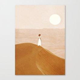 Endless Dunes Canvas Print