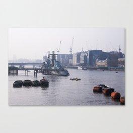 London - RT Canvas Print
