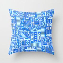 GeoPrint Pattern Throw Pillow