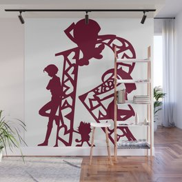 Rocket Silhouettes Wall Mural