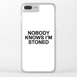 ME 005 Clear iPhone Case