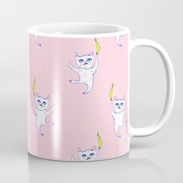 The Golden Banana - Cat Creature Coffee Mug