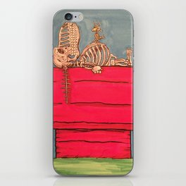 Dead Dog Tired iPhone Skin