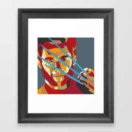 James Howlett Framed Art Print
