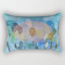 Sunrise in my garden Rectangular Pillow