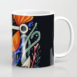 The Anchor// goldfish // marine print // for sailors // anchor // digital // modern // cartoon Coffee Mug