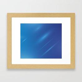 BLUE3 Abstract Art Framed Art Print