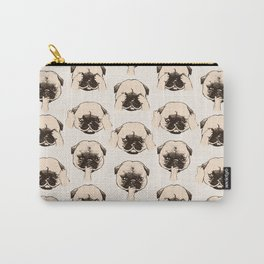 No Evil Pug Carry-All Pouch