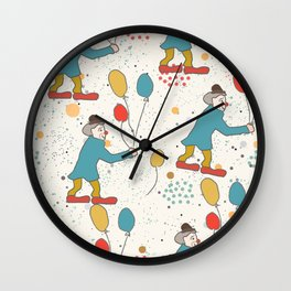 Clowns Wall Clock