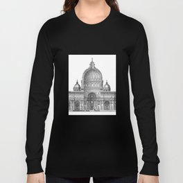 St. Peter Basilica - Rome, Italy Long Sleeve T-shirt