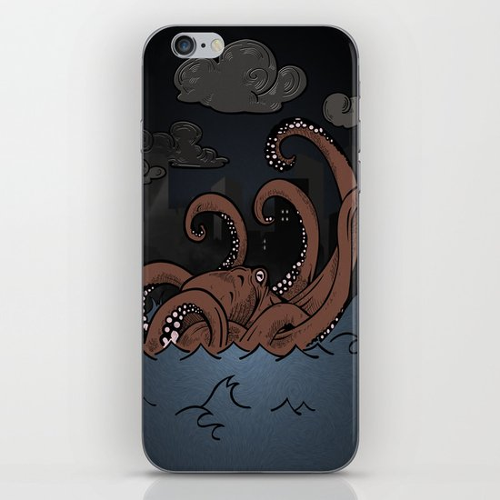Octopi Movement  iPhone & iPod Skin