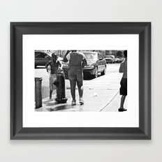 brooklyn Framed Art Print