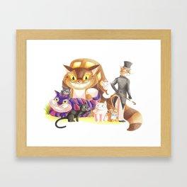 Chats alors ! Framed Art Print