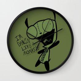 Dancin' Like A Monkey! Wall Clock
