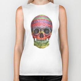 Navajo Skull  Biker Tank
