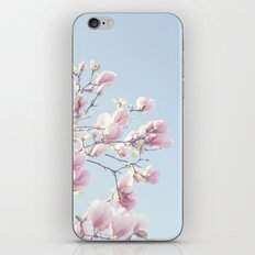 Pink magnolias iPhone & iPod Skin