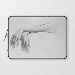 Poetry of Hands Laptop Sleeve