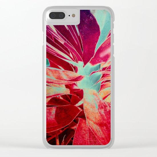 Vintage agava(2) Clear iPhone Case