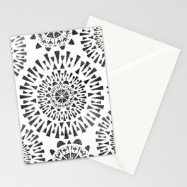 Fireworks Circles Pattern Stationery Cards