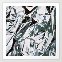 silver foil Art Print