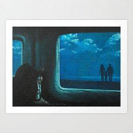 Gone Was Forever... Art Print