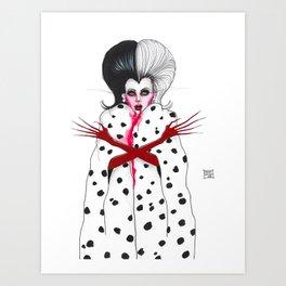 Cruella Art Print