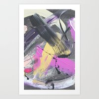 fireworks Art Prints featuring Fireworks by MADE BY GIRL