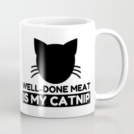 Well-done meat Lover Funny Cat Gifts Coffee Mug