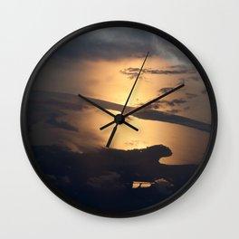 Liquid Starlight Wall Clock