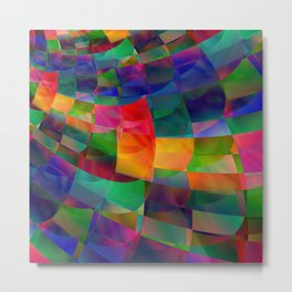 Colour Shift Metal Print