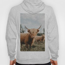 Highland Cow In The Country Hoody